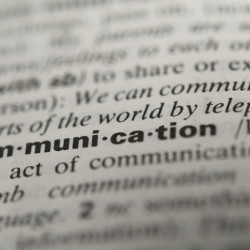 Definition of the word communication